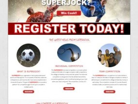 Brand new Website launched for SuperJock Events!